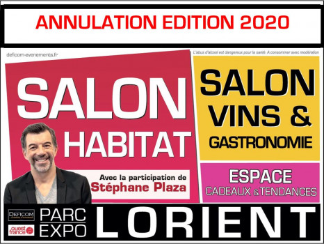ANNULATION SALON HABITAT LORIENT